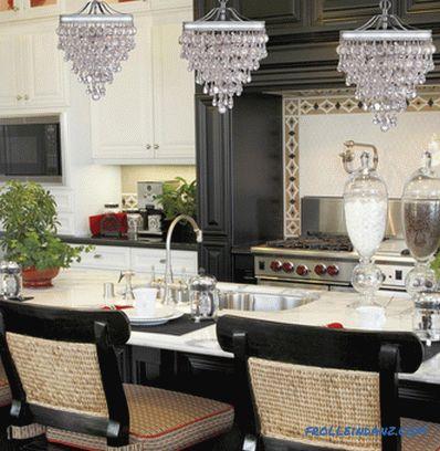 Lampadari per la cucina - foto di lampade all\'interno di ...