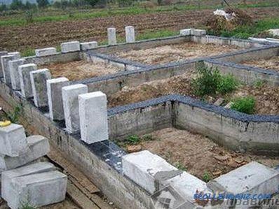 Come costruire una casa di cemento espanso