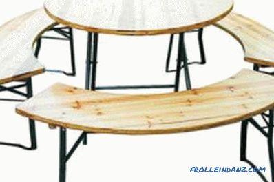 Tavolo Con Gambe Pieghevoli Fai Da Te.Tavolo Da Picnic Fai Da Te Pieghevole Procedura Di Produzione