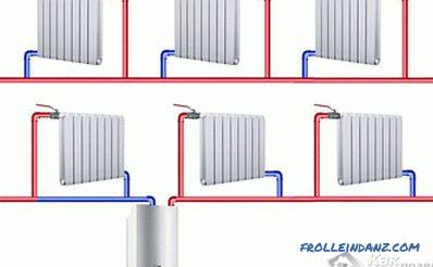 Sistema Di Riscaldamento Monotubo Di Una Casa Privata Fai Da Te