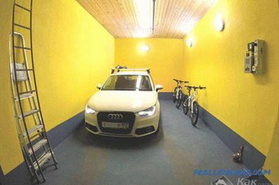 Impermeabilizzazione del pavimento del garage con le tue mani